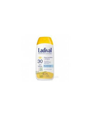 LADIVAL PIEL SENSIBLE FPS 30  200 ML